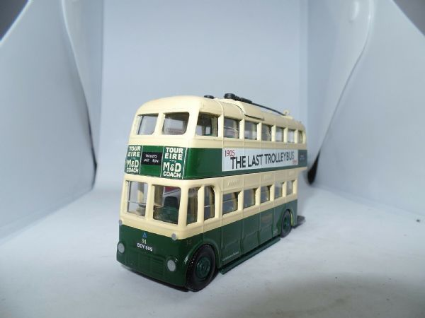 Corgi OOC 40106 Weymann Last Trolleybus Maidstone & District Hastings UB